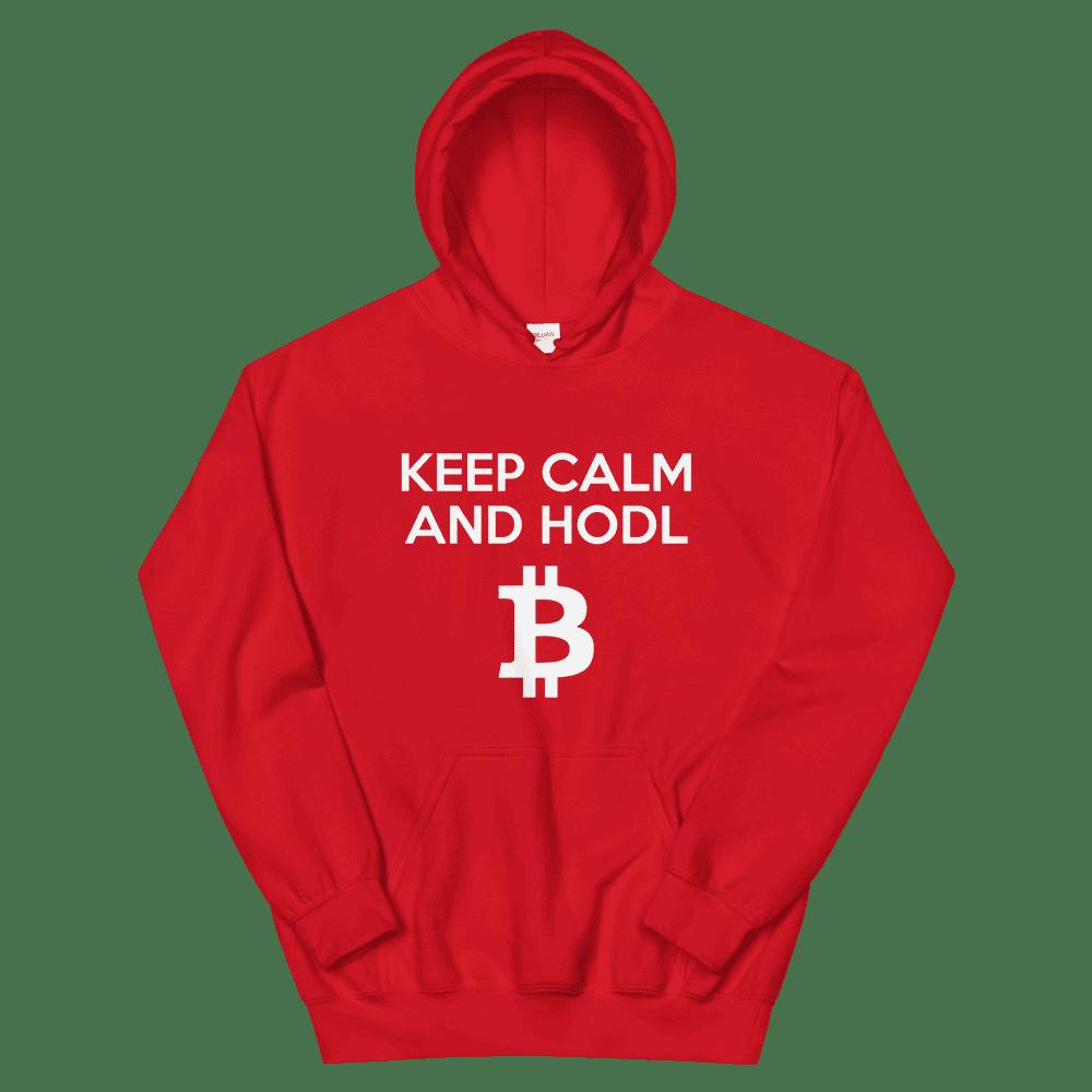 KEEP CALM & HODL BTC Hoodie