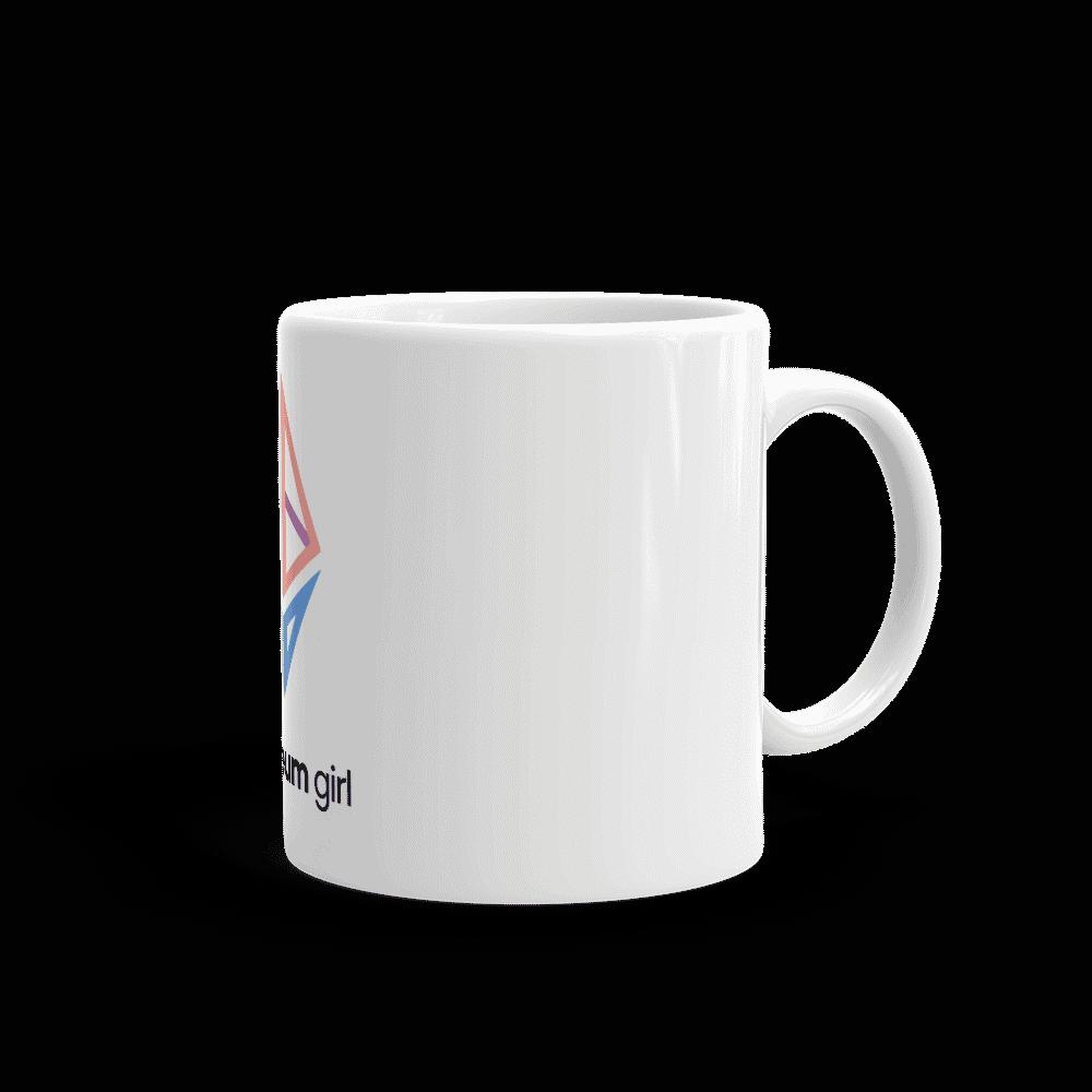 Ethereum Girl mug