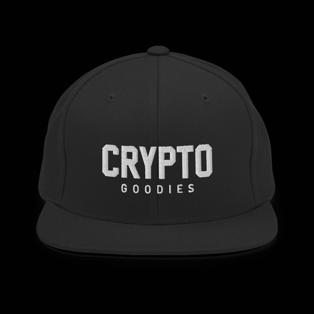 Crypto Goodies Snapback Hat