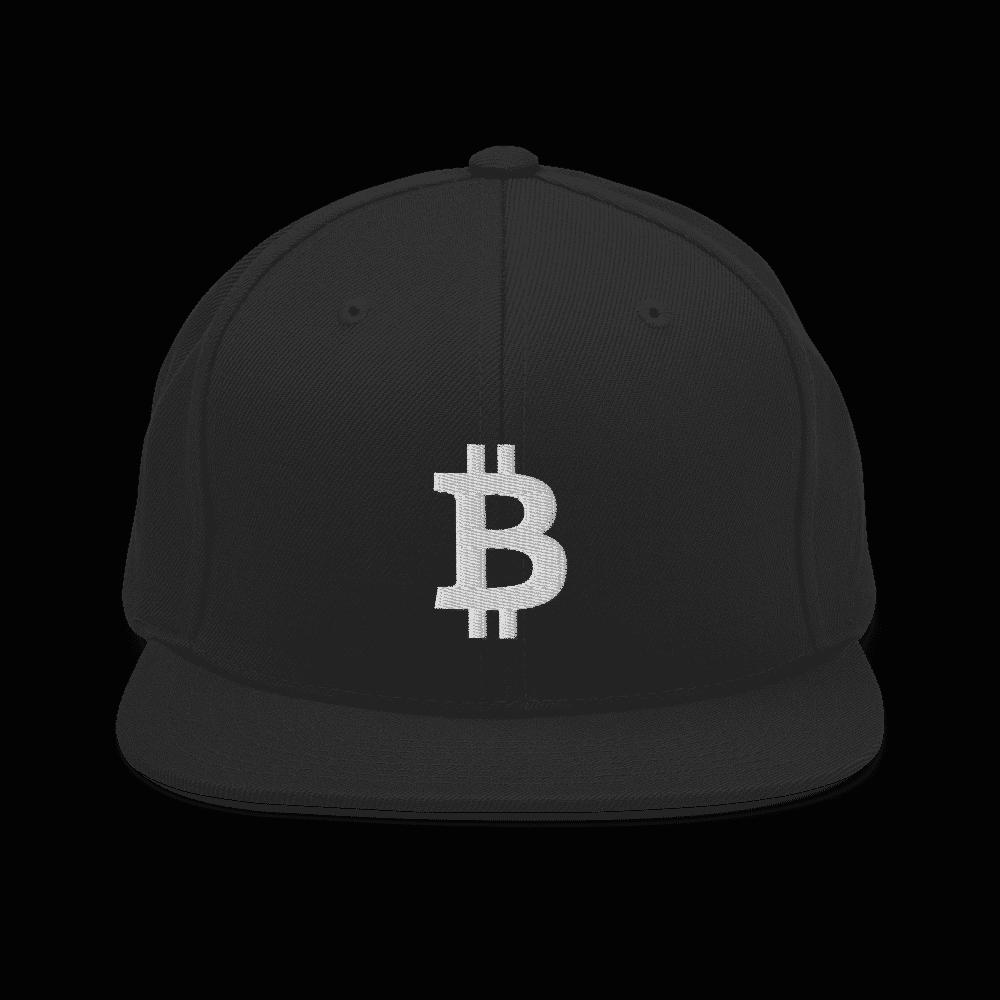 Bitcoin Logo Snapback Hat