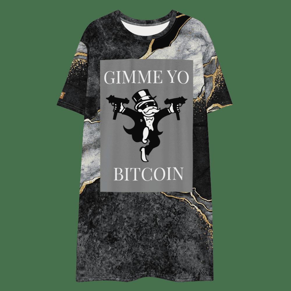 Gimme Yo Bitcoin x Legendary T-shirt dress