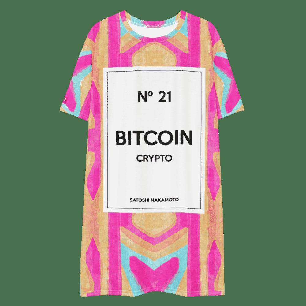 Bitcoin Nº21 x Legendary T-shirt dress