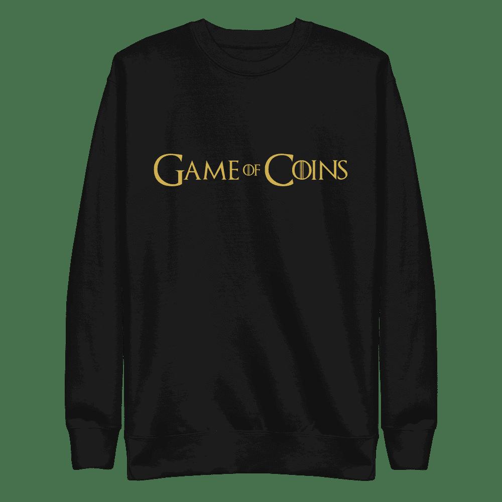 Game of Coins Sweatshirt