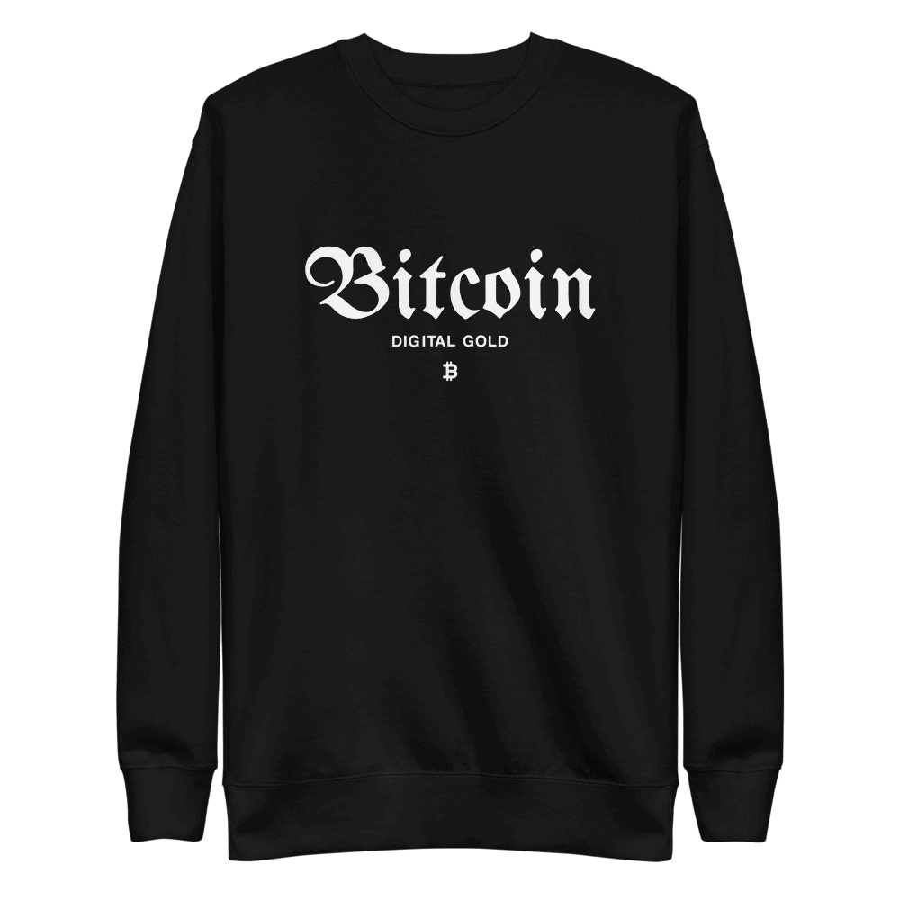 Bitcoin x Digital Gold Sweatshirt