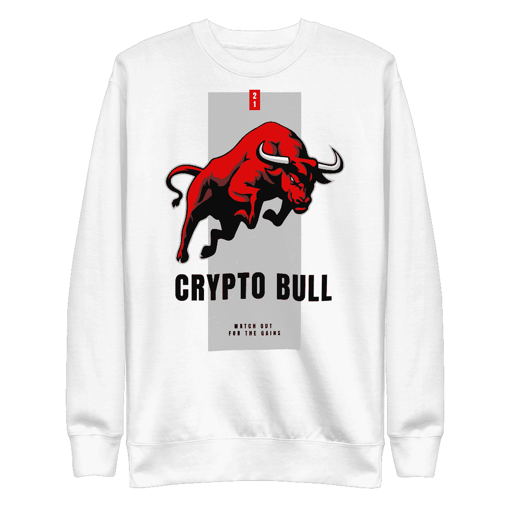 Crypto Bull x Watch Out for the Gains Sweatshirt