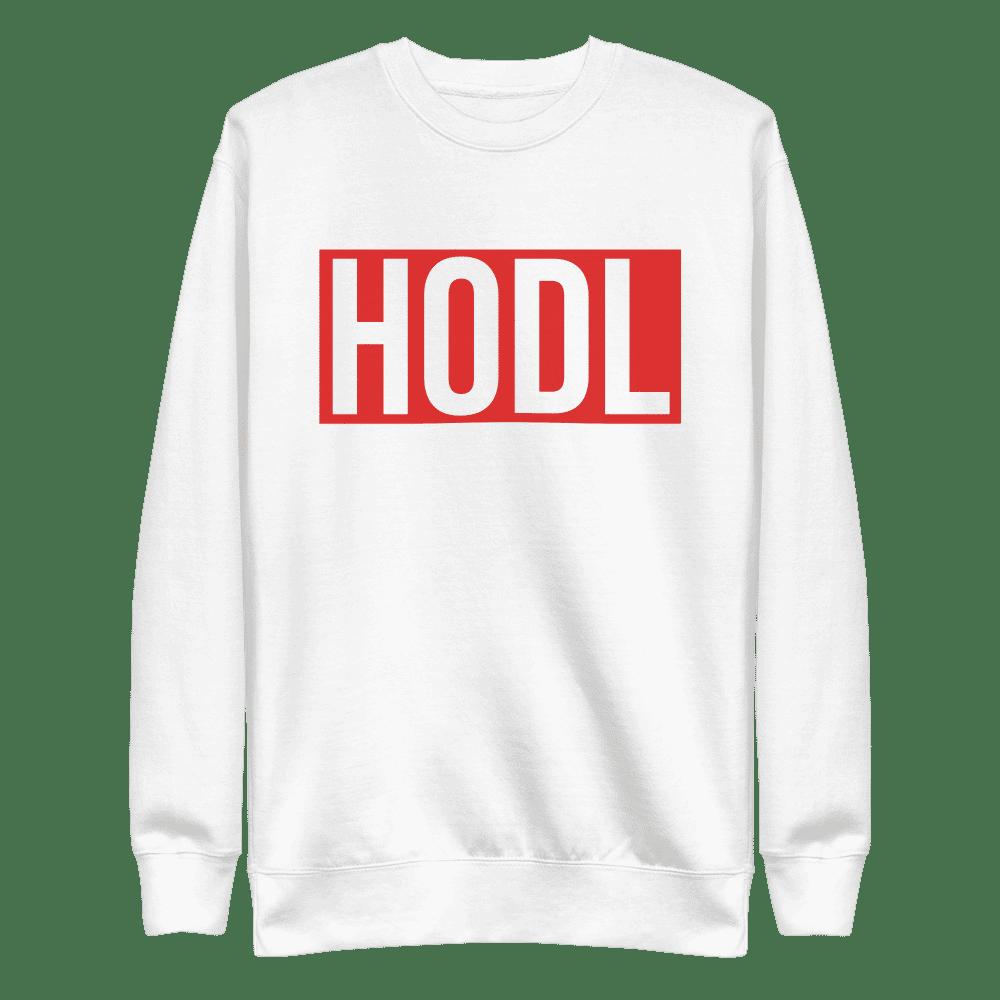 HODL (RED) Sweatshirt