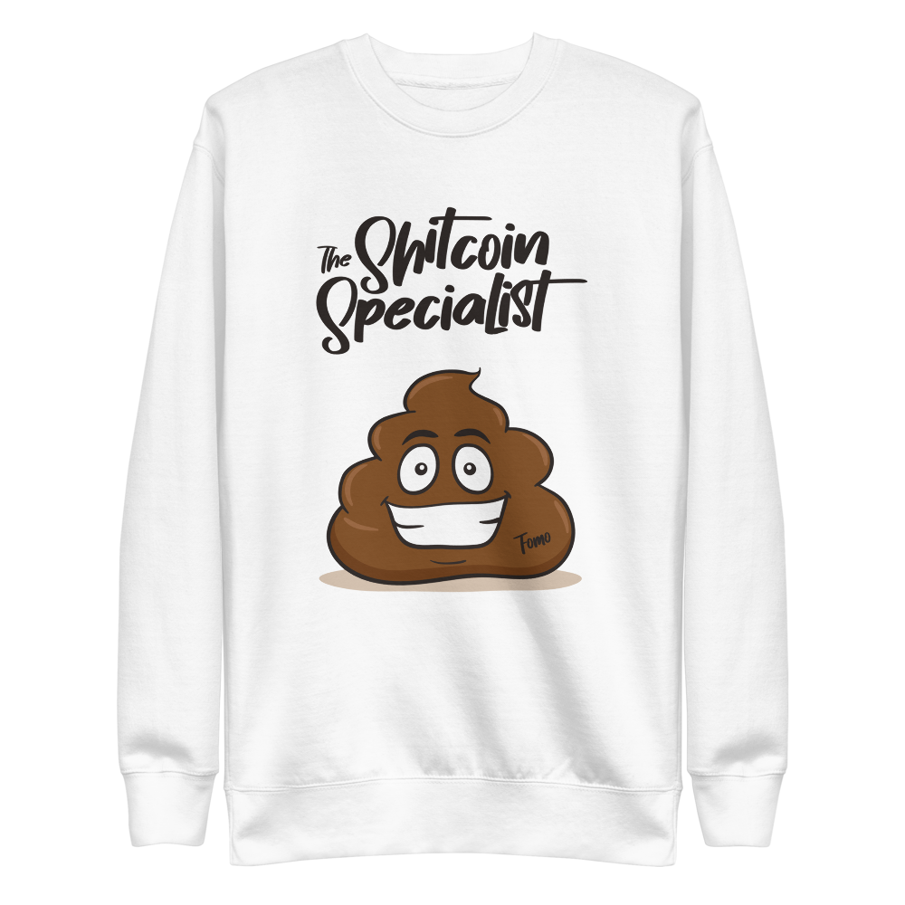 The Shitcoin Specialist Sweatshirt
